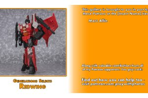 GALLERY: Transformers Generations Selects Redwing With Review