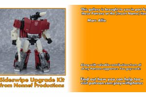 GALLERY: Sideswipe Upgrade Kit from Nonnef Productions